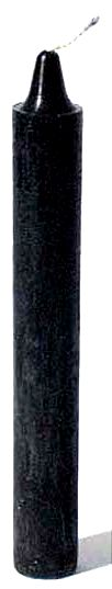 Black Taper Candle